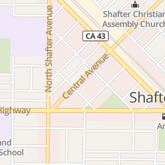 Directions for Amandas in Shafter, CA 238 Central Ave