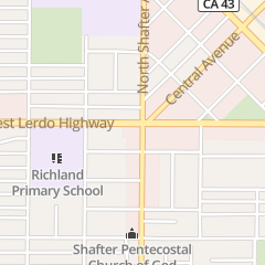 Directions for Mcdonald's Restaurant in Shafter, CA 101 W Lerdo Hwy