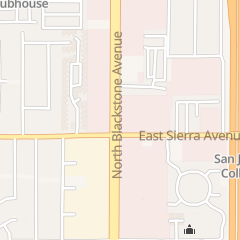 Directions for State of California - Motor Vehicles Dept. in Fresno, CA 6420 N Blackstone Ave