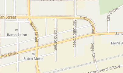 Directions for Dilligas Saloon & Grill in Reno, NV 1303 E 4th St