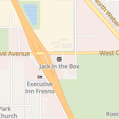 Directions for Jack in the Box in Fresno, CA 1405 W Olive Ave