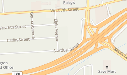 Directions for The Gateway Lounge in Reno, nv 1275 Stardust St