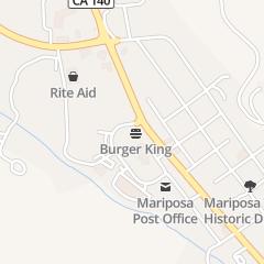 Directions for Burger King in MARIPOSA, CA 5005 Coakley Cir