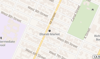 Directions for Eltareb Market Number Three in Merced, CA 561 W 8Th St
