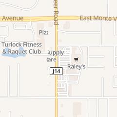 Directions for Carl's Jr. in Turlock, CA 2980 Geer Rd