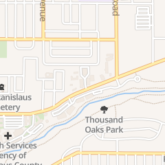 Directions for Campbell & Associates Adverting in Modesto, CA 1165 Scenic Dr