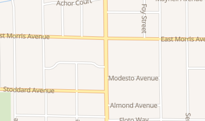 Directions for Town Hype in Modesto, CA 439 Mchenry Ave