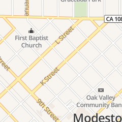 Directions for Brighter Side in Modesto, CA 1125 K St
