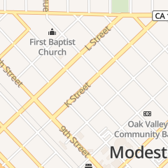 Directions for A Place for Nails in Modesto, CA 1113 K St