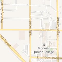Directions for Modesto Junior College in Modesto, CA 435 College Ave