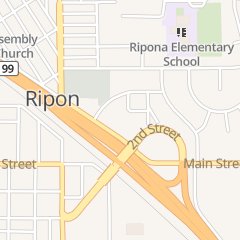 Directions for H & H Appliance in Ripon, ca 166 Frontage Rd