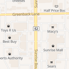 Directions for Size 5-7-9 Shop in Citrus Heights, CA 6039 Sunrise Mall