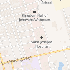 Directions for Saint Joseph's Nutrition Services in Stockton, CA 1800 N California St