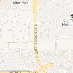 Directions for Arbor View Montessori in Roseville, CA 7441 Foothills Blvd
