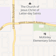 Directions for St. Paul's Lutheran Church in Tracy, CA 1635 Chester Dr