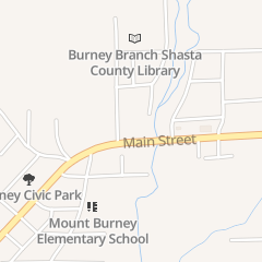 Directions for MT Burney Theatre in Burney, CA 37022 State Highway 299 E