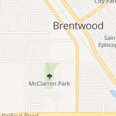 Directions for Grace Bible Fellowship Church in Brentwood, CA 657 Mcclarren Rd
