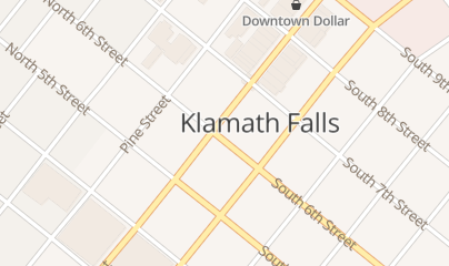 Directions for WALDO'S in KLAMATH FALLS, OR 610 MAIN ST