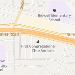 Directions for Cornerstone Christian Center in Antioch, CA 640 E Tregallas Rd