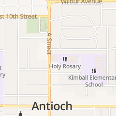 Directions for Holy Rosary Church Antioch in Antioch, CA 1313 A St