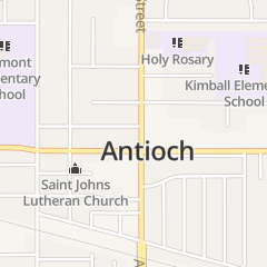 Directions for The Church of God-Holy in Antioch, CA 1700 A St