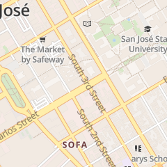 Directions for Fedex Office in San Jose, CA 93 E San Carlos St
