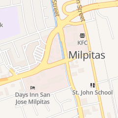 Directions for David M Souza Insurance Agency Inc. in Milpitas, CA 101 Serra Way