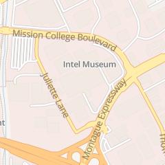 Directions for Intel Corporation in Santa Clara, CA 2200 Mission College Blvd