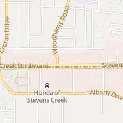Directions for Allan's Salon in Santa Clara, CA 4483 Stevens Creek Blvd