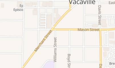 Directions for Conner David in Vacaville, CA 429 William St