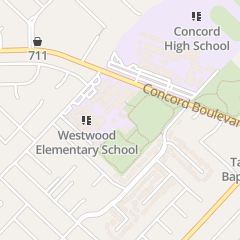 Directions for Westwood Day Care Center in Concord, CA 1748 West St