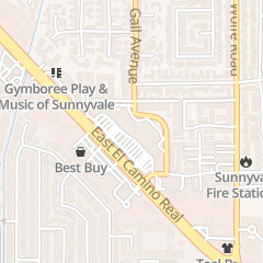 Directions for The Little Gym - Sunnyvale in Sunnyvale, CA 781 E El Camino Real