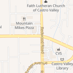 Directions for Castrol Valley Eden Area Chamber of Commerce in Castro Valley, CA 3467 Castro Valley Blvd