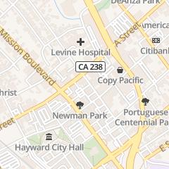 Directions for 24 7 Locksmith in Hayward, ca 22525 Main St