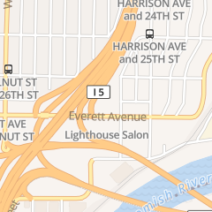 Directions for G & S Heating Cooling & Electric Inc in Everett, WA 3409 Everett Ave