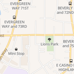 Directions for Canyon Creek Church - Ofc in Everett, WA 1122 75th St Sw