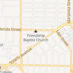Directions for Friendship Baptist Church in Vallejo, CA 1904 Carolina St