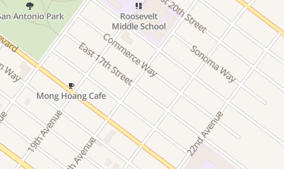 Directions for HORIZON BEVERAGE CO in Oakland, CA 1700 E 20Th St