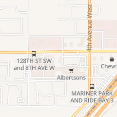 Directions for Mcdonald's Restaurant in Everett, WA 530 128th St Sw