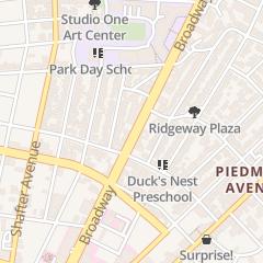 Directions for Slick & Dapper Barbershop on Broadway in Oakland, CA 4121 Broadway