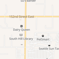 Directions for KENNY NAILS in PUYALLUP, WA 15317 MERIDIAN E