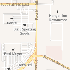 Directions for Big 5 Sporting Goods in Puyallup, WA 17014 Meridian E