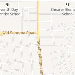 Directions for Posh Salon in Napa, CA 203 S Jefferson St
