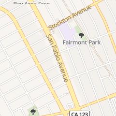 Directions for Jin Jun Massage Therepy in El Cerrito, CA 10285 San Pablo Ave