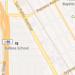 Directions for Susan M Greene Phd - Licensed Psychologist Psy 6684 in El Cerrito, CA 11100 San Pablo Ave Ste 216