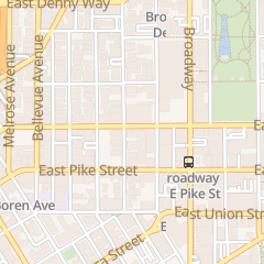 Directions for Bill's Off Broadway in Seattle, WA 725 E Pine St