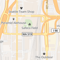 Directions for Seattle Mariners Baseball Club in Seattle, WA 1250 1st Ave S