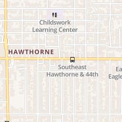 Directions for Fyberworks Boutique in Portland, OR 4300 Se Hawthorne Blvd