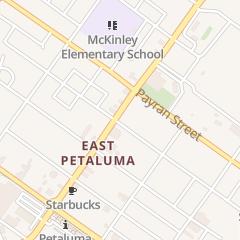 Directions for Lovely Nails in Petaluma, CA 710 E Washington St