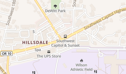 Directions for Hillsdale Pub in Portland, OR 1505 Sw Sunset Blvd